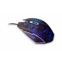 Mouse Noga Gamer St002 Usb 6 Botones 2400dpi Led Colores Luz