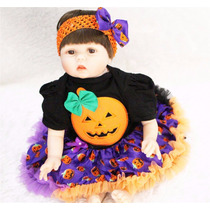 Boneca Bebê Reborn Silicone 55cm Sob Encomenda