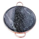 Chapa M Grelha Pra Carne 27cm Pedra Sabão Curada Imperdível