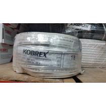 Cable Pot 18 Duplex Kobrex Rollo 100 Mts