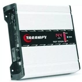 Fonte Automotiva Taramps Tef 120a Carregador Bateria Bivolt