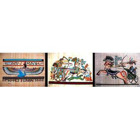 Papiro Egipcio Original Grande 17 Modelos Diferente