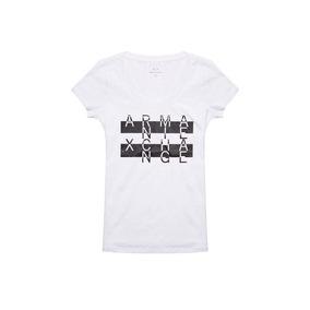 Remera Armani Exchange - Blanca- 003