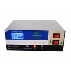 Carregador Bateria Automotiva 10a Inteligente Digital 12/24v