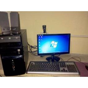 Computadora Pc Completa Dual 2.6ghz Wifi 2gb Y 80gb Lcd 16
