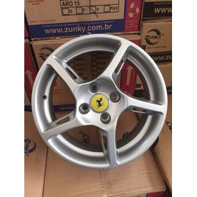 Jogo De Rodas Zunky Zk500 Aro 15 Ferrari Rockts Vw Fiat Gm