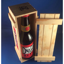 Cerveza Artesanal Duff De Colección Incluye El Estuche!!