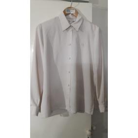 Camisa Blusa D Vestir Mujer Cantoli Como Nueva
