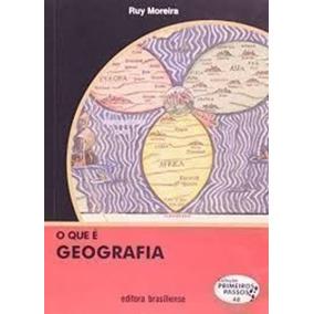 Livro O Que É Geografia - Edição De Bolso Ruy Moreira