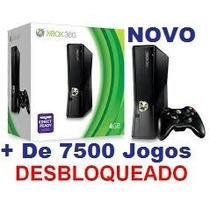 Xbox 2000gb Desblokiado +d7500 Jogos + Brindes Loja Oficial