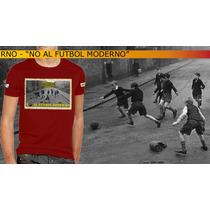 Remera Algodon - Barrabrava - No Al Futbol Moderno