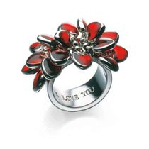Anillo Swatch Love Explosion Jrr016-7 Mujer