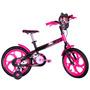 Bicicleta Infantil Caloi Aro 16 Monster High Feminina