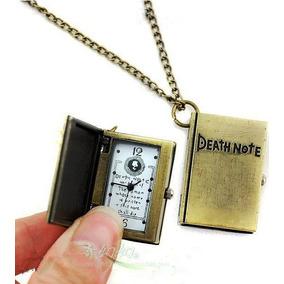 Collar Reloj Death Note Bronze Envio Gratis