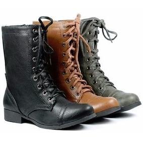 Botas Estilo Militar Marca Soda (damas)