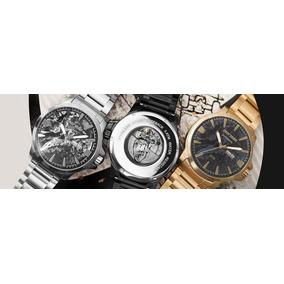 d37e7ba9764 Relógio Mormaii Preto E Dourado - Relógios no Mercado Livre Brasil