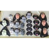 23 Mascaras Halloween Bruja Dracula Calavera Otros Disfraz