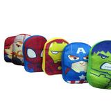 Almohadones Marvel (spiderman, Iron Man, Hulk, Thor Y Más).