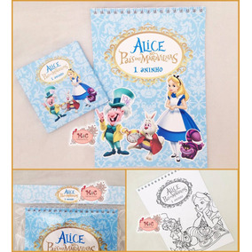 20 Kits De Colorir Alice No Pais Das Maravilhas