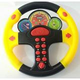 Brinquedo Volante Infantil Com Som 08 Botoes Musical