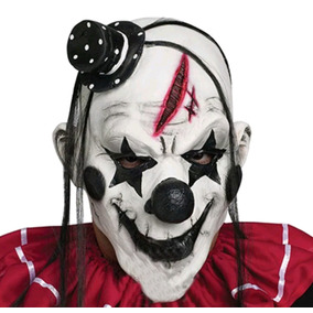 Máscara Látex Palhaço Assassino Halloween It Zumbi Rave