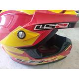 Casco Ls2 Mx426 Para Motocross Color Venezuela (talla M)