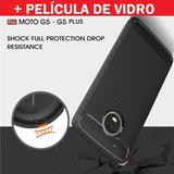 Case Capa Motorola Moto G5 / G5 Plus + Película Vidro