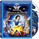 Branca De Neve E Os Sete Anões Blu-ray Ed. Diamante Com Luva