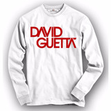 Camiseta / Camisa Manga Longa David Guetta