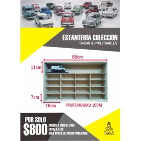 Colección Dakar & Autos Inolvidables Estantería.