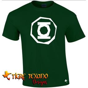 Playera Super Héroes Linterna Verde By Tigre Texano Designs
