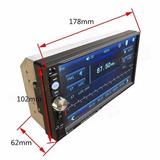 Autoradio Tactil Hd 7 , Mp5, Bt, Usb, Sd, Fm, Aux, Control V