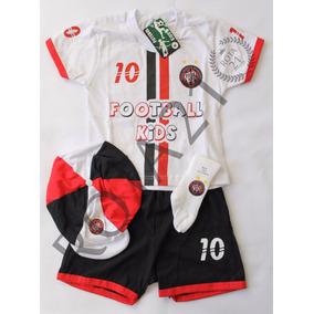 Kit 4 Peças Conjunto Futebol Atlético Paranaense