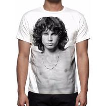 Camisa, Camiseta Jim Morrison - The Doors - Estampa Total