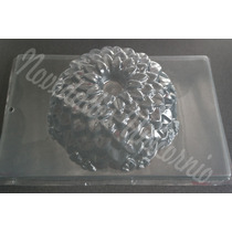 Molde Grande Gelatina Artistica Crisantemo Boda Encapsulada
