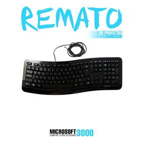 Teclado Usb Negro Microsoft Para Pc
