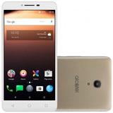 Smartphone Alcatel A3 Xl Dual 9008j Dourado Frete Grátis