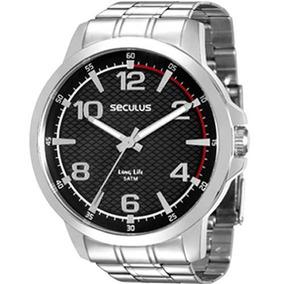 Relógio Seculus Masculino Long Life 28793g0svna1