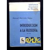 Manuel Gonzalo Casas - Introducción A La Filosofía