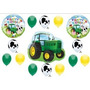 Vaca Fiesta De Cumpleaños Del Tractor Globos Decoraciones D