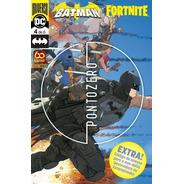 Hq Batman/fortnite Ponto Zero Vol 4 Novo Lacrado Com Código