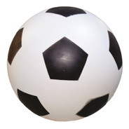 20 Bola De Vinil Dente De Leite Branco Com Preto De Futebol