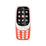 Celular Nokia 3310 3g 2.4¨ 16mp Camara 2mp Rojo
