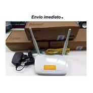 Modem Roteador Oi Velox 300 Mbps Wifi 2 Ant. 5 Dbi. Promoção
