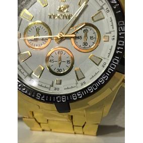 5e5b9b05a54 Relógio Tecnet Dourado 62828ch Resistente A Água Masculino · R  142. 12x R   13. Frete grátis