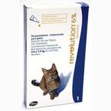 2 X Pipetas Revolution 7.5 Kg Gatos Antiparasitaria Pethome