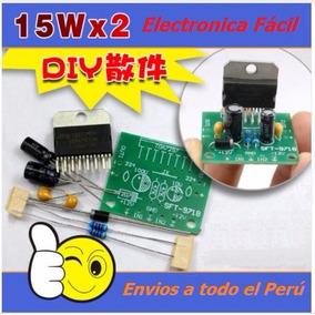 Kit Electronico Amplificador Tda7297 30w Clase Ab