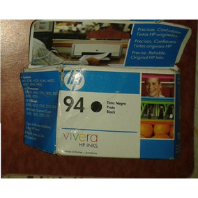 Cartuchos Hp 94 D Color Negro (vencidos) Originales