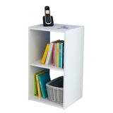 Cubo Organizador Doble Color Blanco