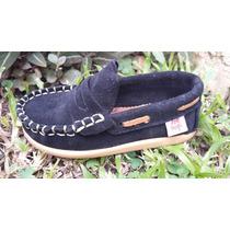 Zapatos Náuticos De Gamuza Talle 16 A 26 Niño